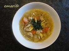 Hühner Suppe mit Asiatouch - Rezept - Bild Nr. 4321