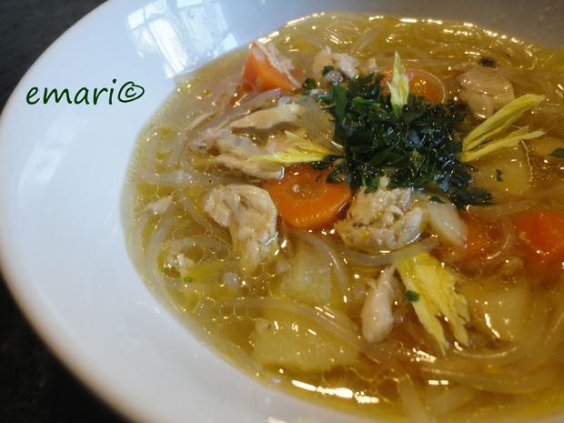 Hühner Suppe mit Asiatouch - Rezept - Bild Nr. 4322