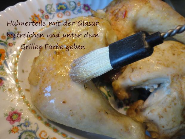 Asia Hühnchen aus dem Römertopf - Rezept - Bild Nr. 4329