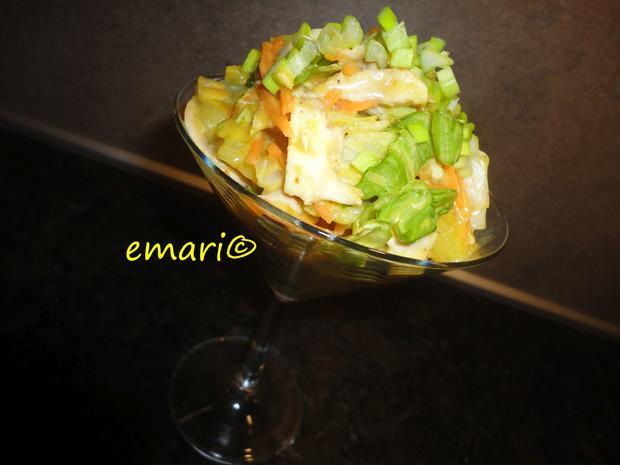 Hühner Curry Salat - Rezept - Bild Nr. 4366