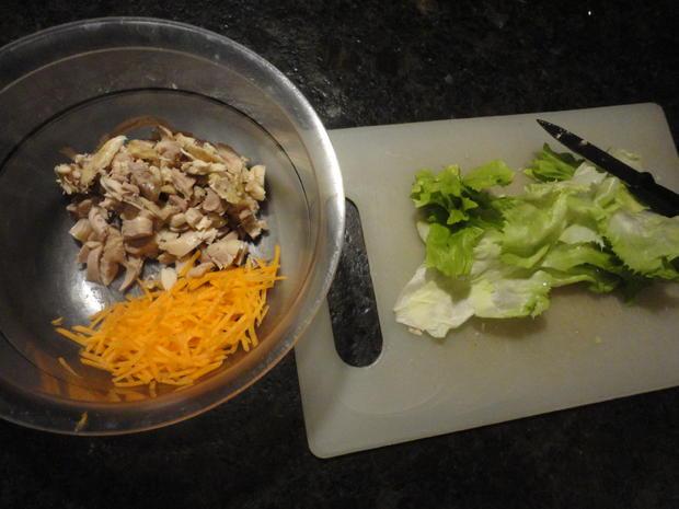 Hühner Curry Salat - Rezept - Bild Nr. 4367