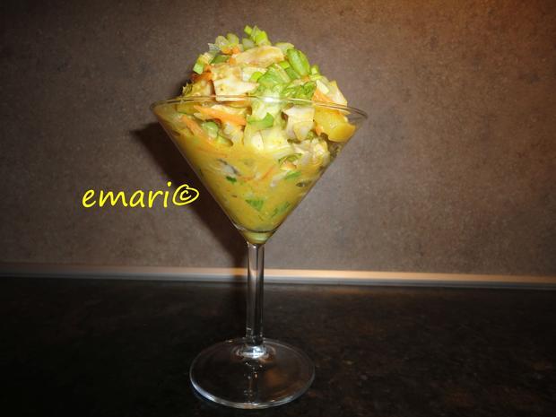 Hühner Curry Salat - Rezept - Bild Nr. 4368
