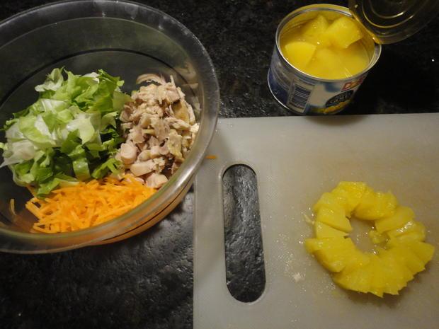 Hühner Curry Salat - Rezept - Bild Nr. 4369
