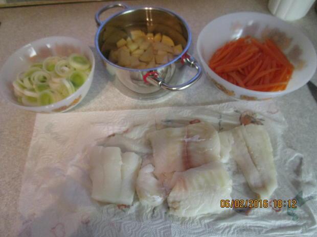 Fischfilet auf Senfgemüse - Rezept - Bild Nr. 4350