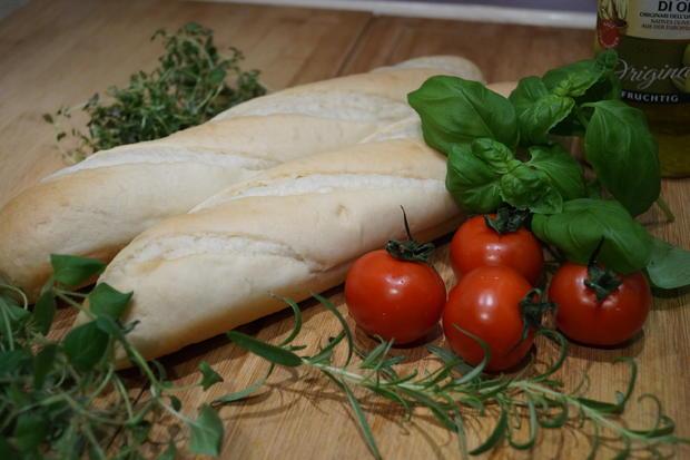 überbackene Tomaten-Baguettes - Rezept - Bild Nr. 4350