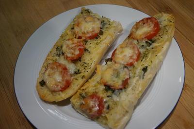 überbackene Tomaten-Baguettes - Rezept - Bild Nr. 4351