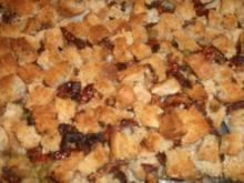 Fischfilet mit mediteraner Brot-Kruste, dazu Rosmarin-/Thymian-Kartoffeln - Rezept