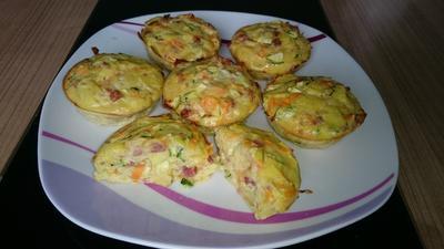 leichte, herzhafte Gemüse-Muffins - Rezept - Bild Nr. 4366