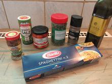 Spaghetti mit Knoblauch-Chilli-Marinade - Rezept - Bild Nr. 2