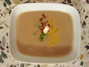 Maronensuppe mit Orangenfilets - Rezept - Bild Nr. 4465