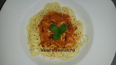 Vegetarische Spaghetti Soße. - Rezept - Bild Nr. 4465