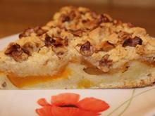 Pfirsich-Streuselkuchen mit Walnüssen - Rezept - Bild Nr. 4507