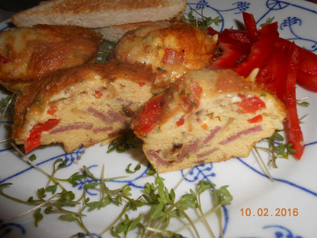 Rührei - Muffin - Rezept - Bild Nr. 4507