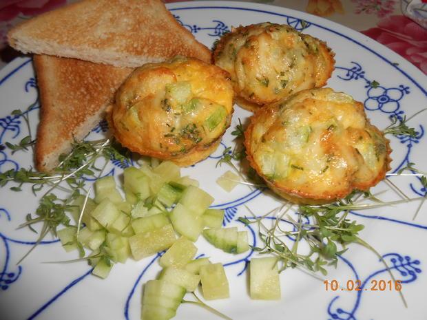 Rührei - Muffin - Rezept - Bild Nr. 4508