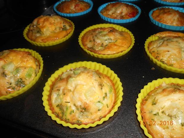 Rührei - Muffin - Rezept - Bild Nr. 4516