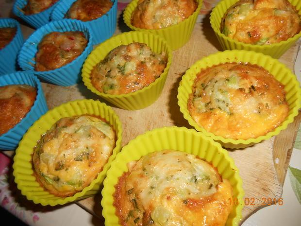Rührei - Muffin - Rezept - Bild Nr. 4517