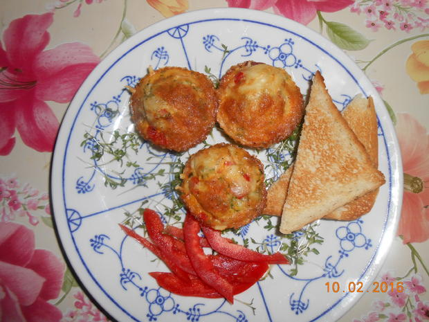 Rührei - Muffin - Rezept - Bild Nr. 4518