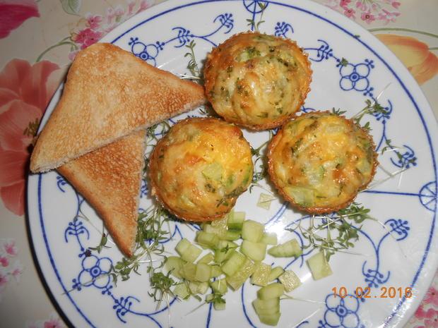 Rührei - Muffin - Rezept - Bild Nr. 4519