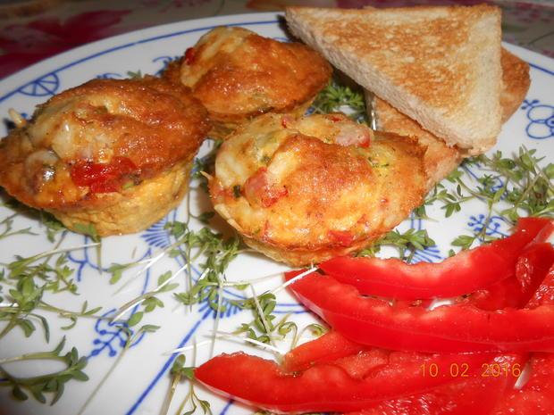 Rührei - Muffin - Rezept - Bild Nr. 4520