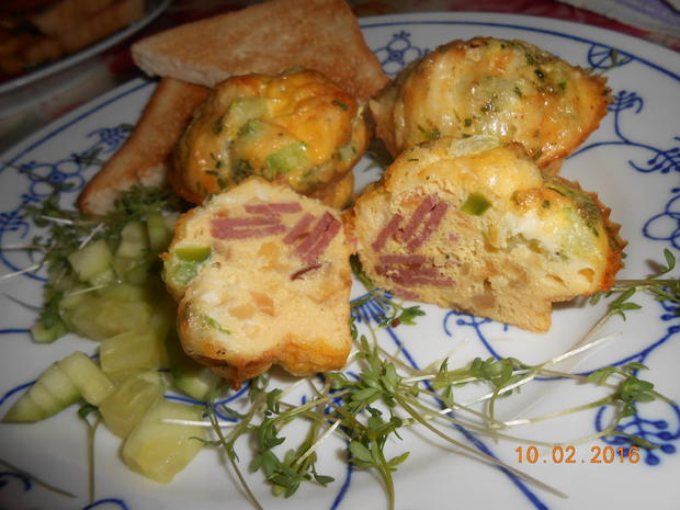 Rührei - Muffin - Rezept - Bild Nr. 4521