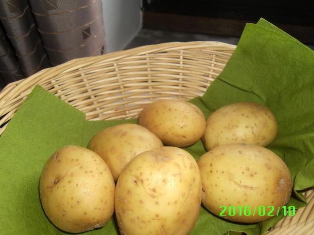 Matjesfiltes in Marinade mit Pellkartoffeln und Eisbergsalat - Rezept - Bild Nr. 4523