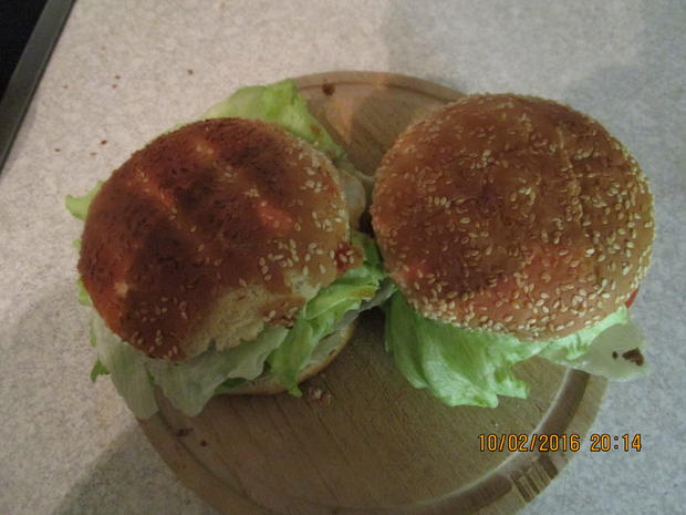 Tartar-Hamburger XXL - Rezept - Bild Nr. 4522