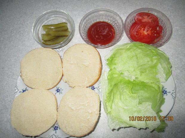 Tartar-Hamburger XXL - Rezept - Bild Nr. 4531