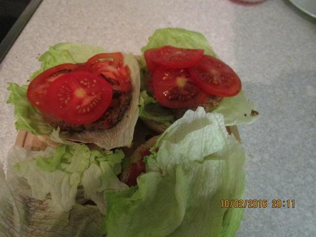 Tartar-Hamburger XXL - Rezept - Bild Nr. 4533