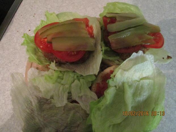 Tartar-Hamburger XXL - Rezept - Bild Nr. 4534