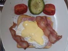 """Ei """"Benedict"""" - meine Zubereitung - Rezept - Bild Nr. 4558"""