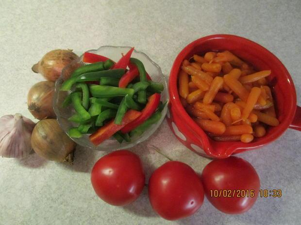 Gemüsepfanne mit Thunfisch - Rezept - Bild Nr. 4523