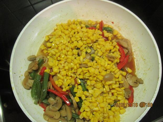 Gemüsepfanne mit Thunfisch - Rezept - Bild Nr. 4525