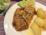 Fisch:   SEELACHS in  ~Kräuter-Ei~ - Rezept - Bild Nr. 4577