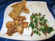 Chipirones & Boquerones mit Brot und Aioli - Rezept - Bild Nr. 4578