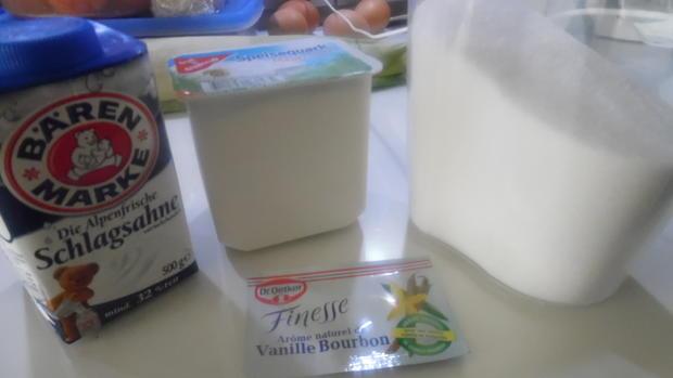 Regenbogen-Biscuit-Rolle (Rainbow Cake Roll) - Rezept - Bild Nr. 4604