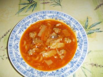 Thaisuppe mit Gehaktesklösschen - Rezept - Bild Nr. 4621