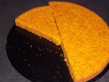 Möhrenkuchen - Rezept