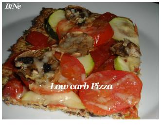Rezept: BiNe` S LOW CARB PIZZA