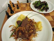 Kalbsleber mit Kartoffelpüree - Rezept - Bild Nr. 4630