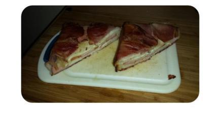 Bacon-Cheese Toast - Rezept - Bild Nr. 4668