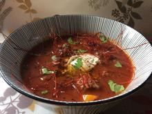 feurige Paprika-Bohnensuppe mit Salsiccia Wurst - Rezept - Bild Nr. 4693