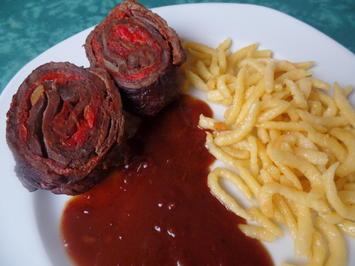Rezept: Ungarische Rinderrouladen