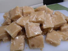 Walnuss-Toffee (Maple-Walnut-Fudge) - Rezept - Bild Nr. 4795