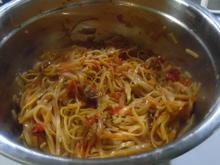 Asiatischer Reis-Bandnudel-Salat - Rezept - Bild Nr. 4858