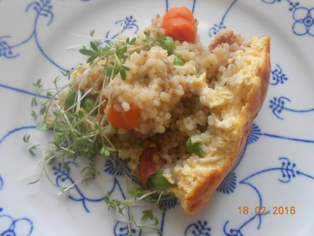 Graupen - Gemüse - Auflauf - Rezept - Bild Nr. 4883