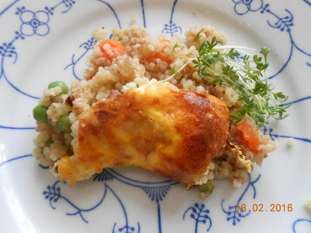 Graupen - Gemüse - Auflauf - Rezept - Bild Nr. 4884