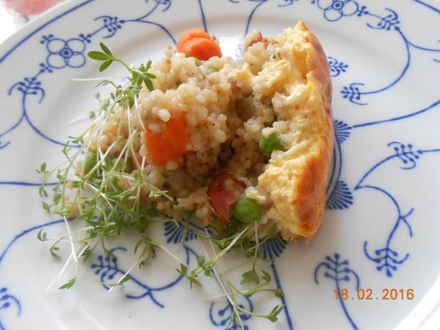 Graupen - Gemüse - Auflauf - Rezept - Bild Nr. 4893