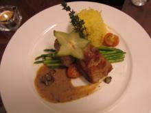 Kalbsfilet mit Safran-Reis und Thai-Spargel an Trüffelsauce - Rezept - Bild Nr. 4904
