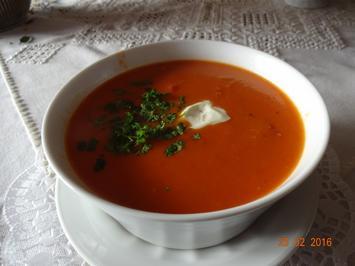 Meine leckere Tomatensuppe - Rezept - Bild Nr. 4904