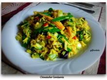Chinesischer Gemüsereis aus dem Wok - Rezept - Bild Nr. 4910